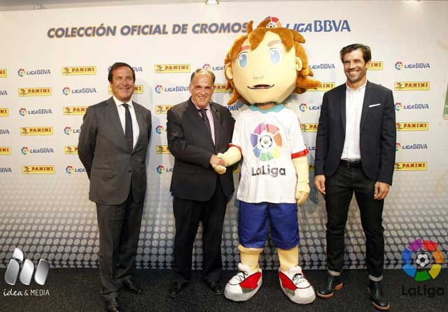 Capi es la nueva mascota de la liga BBVA