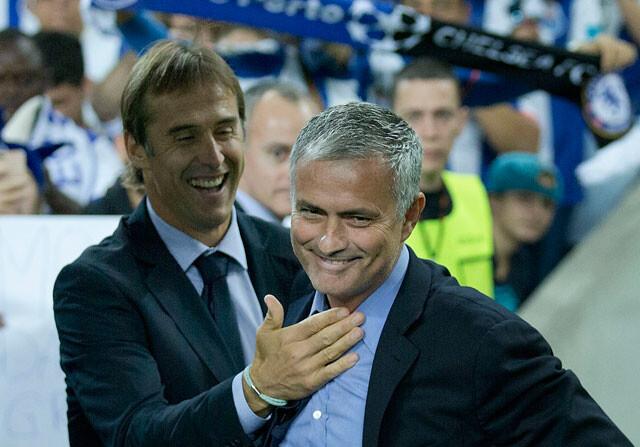 Mourinho y Lopetegi