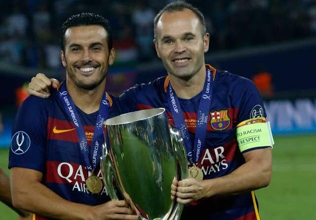 Pedro habla de su salida del Barcelona