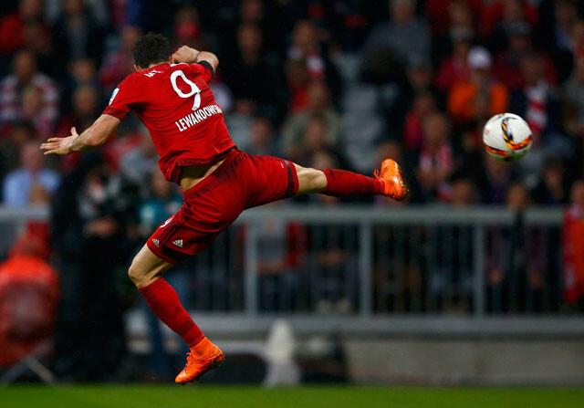 Robert Lewandowski, delantero del Bayern de Múnich