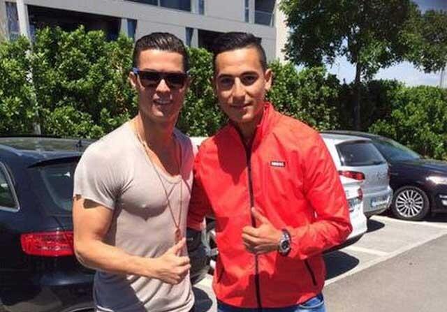 Cristiano Ronaldo y Anwar El Ghazi