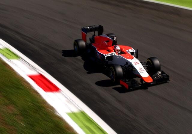 Will stevens durante el GP de Italia