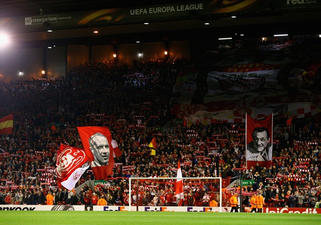 Anfield, estadio del Liverpool