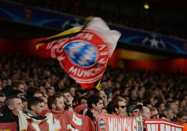 Aficionados del Bayern de Múnich