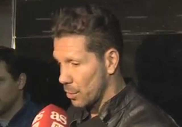 Simeone elogia a Ángel Correa