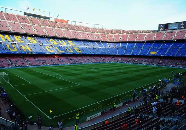 El Camp Nou, estadio del Barcelona