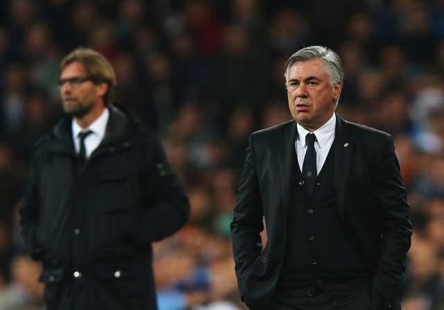 Carlo Ancelotti fue la primera opción del Liverpool para el banquillo
