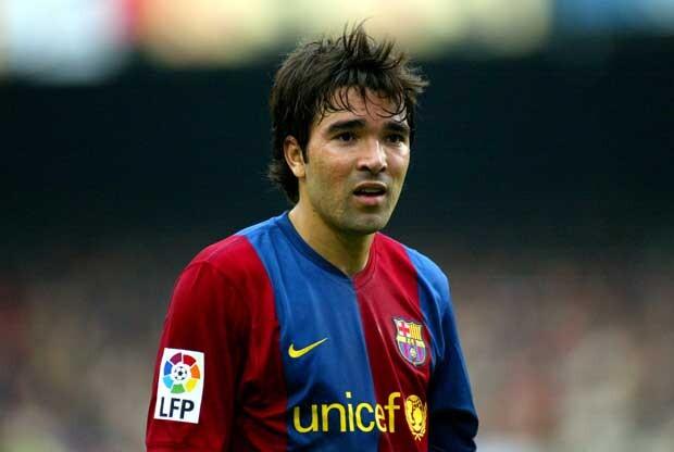 Deco en el FC Barcelona