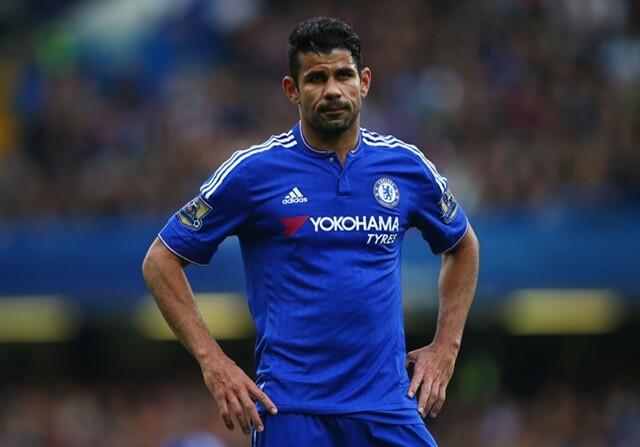 Diego Costa ha marcado menos goles que los rivales