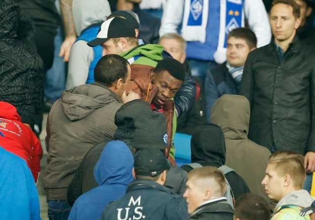 Aficionados del Dinamo de Kiev