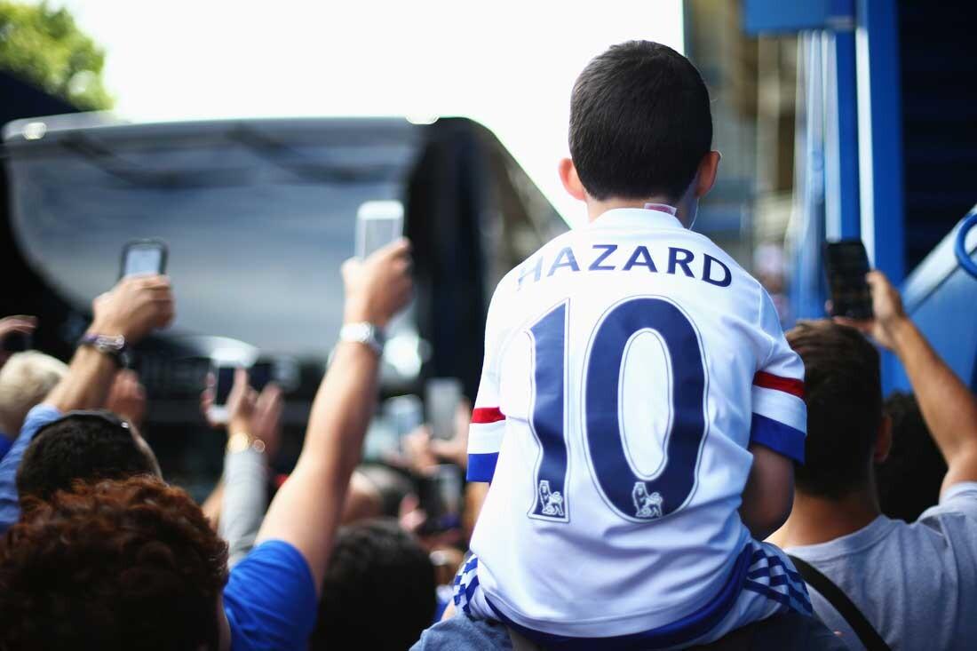 Hazard y Pedro, del Chelsea