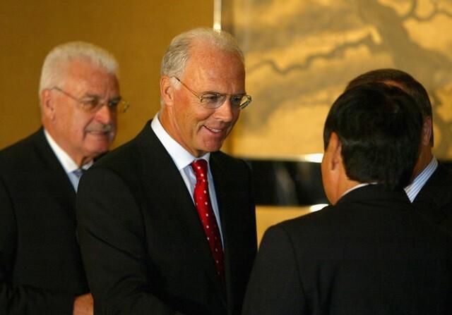 Franz Beckenbauer, exfutbolita del Bayern de Múnich