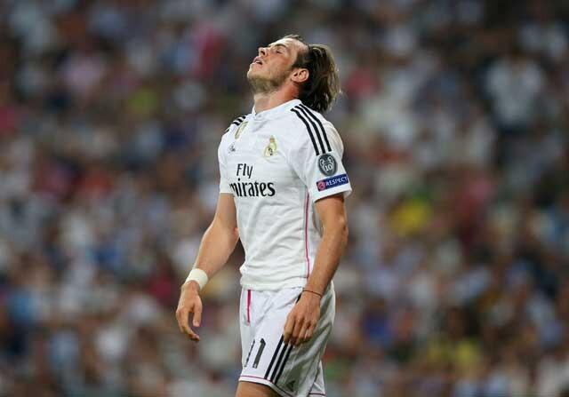 Bale, sustituido contra el Levante