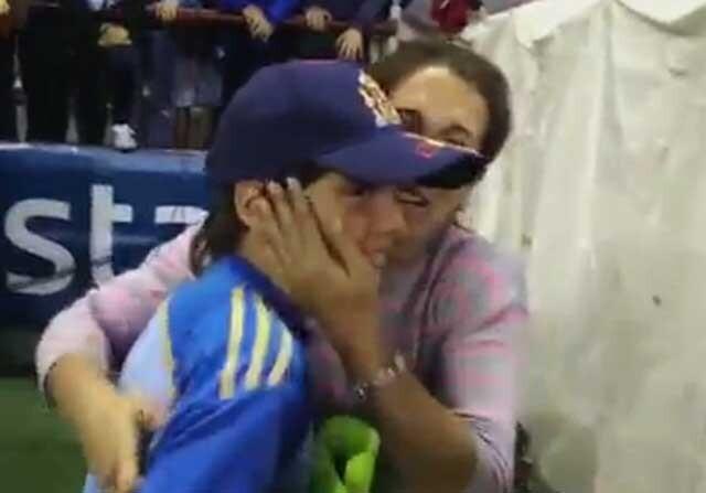 Iker Casillas hace feliz a otro Iker