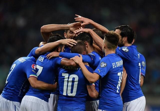 Italia se clasifica para la Euro 2016