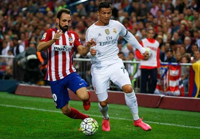 Juanfran defiende el planteamiento del Real Madrid en el derbi