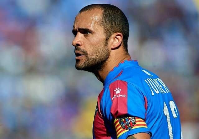 Juanfran, jugador del Levante