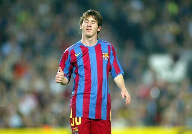 11 años del debut de Messi en Liga