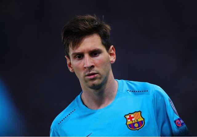 Lionel Messi con el FC Barcelona