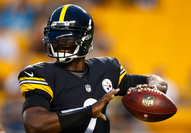 Michael Vick jugando en Pittsburgh Steelers