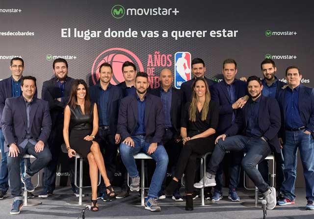 Movistar + presenta la cobertura de la NBA y la Euroliga