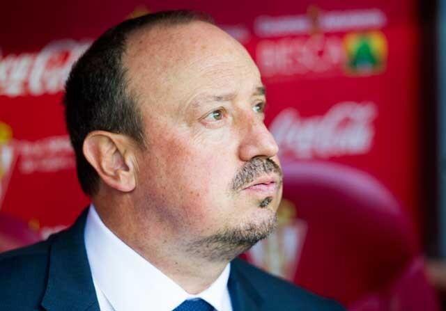 Rafa Benítez, entrenador del Newcastle