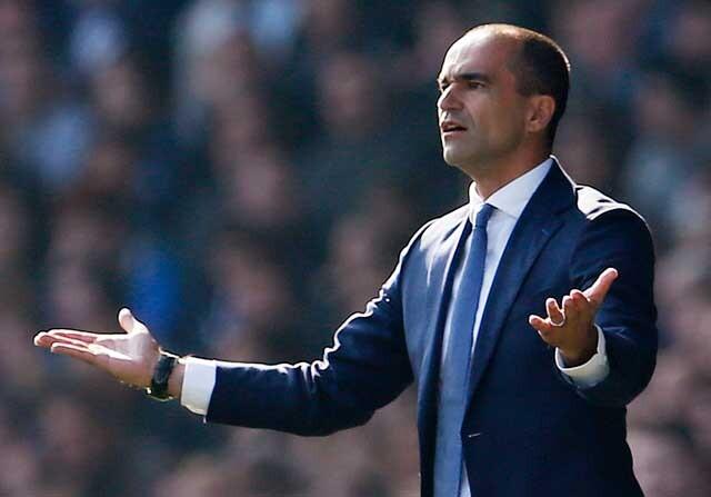 Roberto Martínez se quedó en blanco