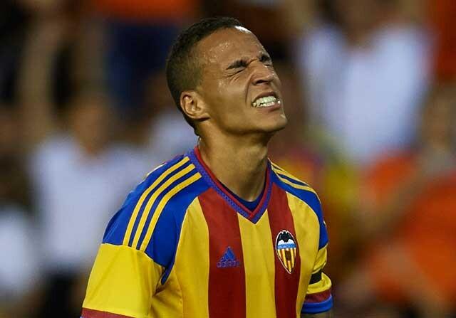 Rodrigo Moreno, jugador del Valencia