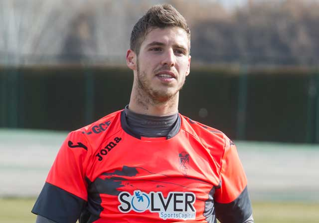 Ruben Pérez, jugador del Granada