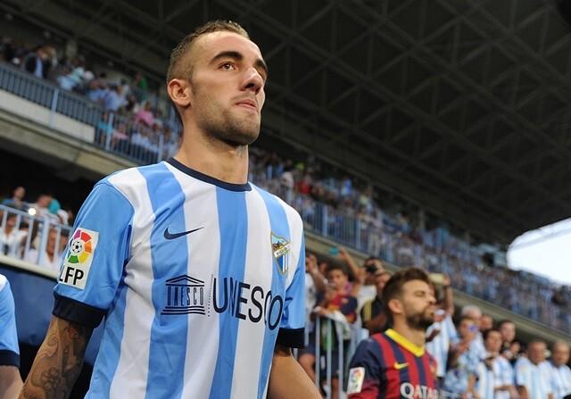 Sergi Darder jugador del Málaga