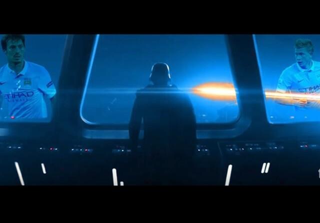 Trailer de Star Wars en versión Manchester United