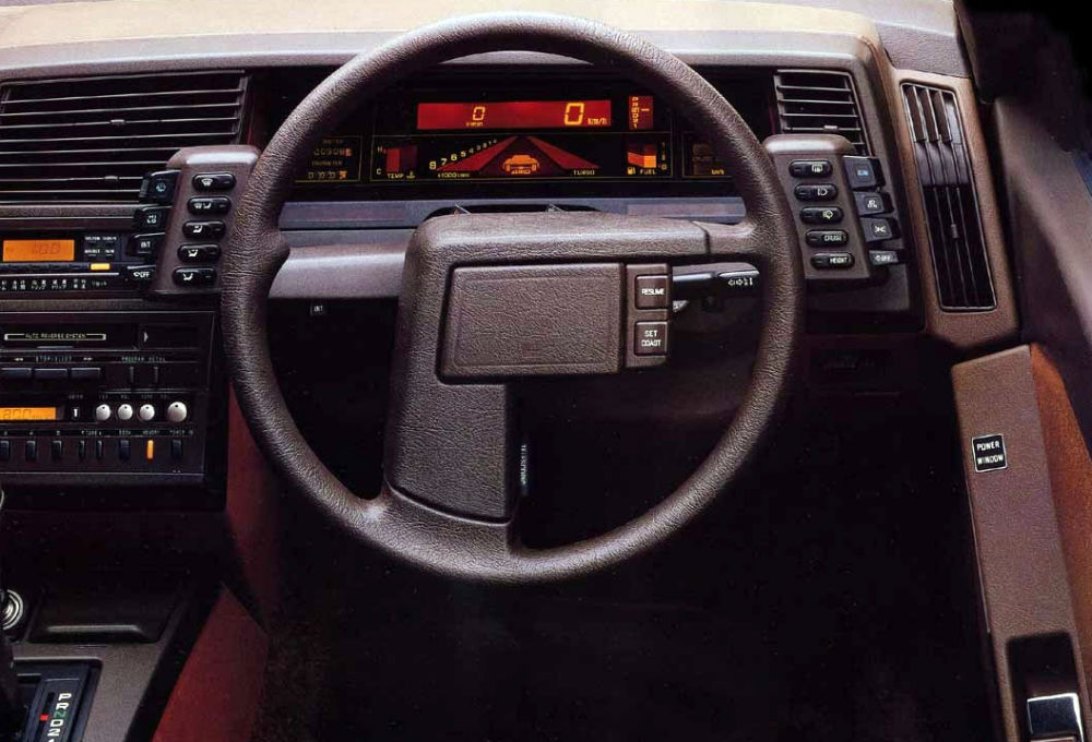 In 1985 Subaru Xt Was Introduced As A Car Which Famous By Its Interior The People Who Able To Drive This Stated That Steering Wheel Not