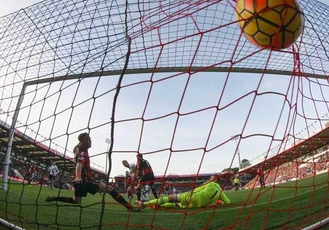 Harry Kane marcando un gol