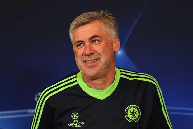 Carlo Ancelotti en el Chelsea