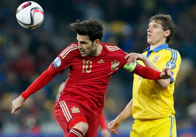 Cesc Fabregas, del Chelsea