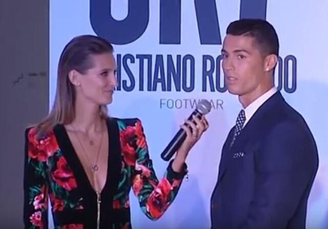 Cristiano Ronaldo presenta su marca de zapatos