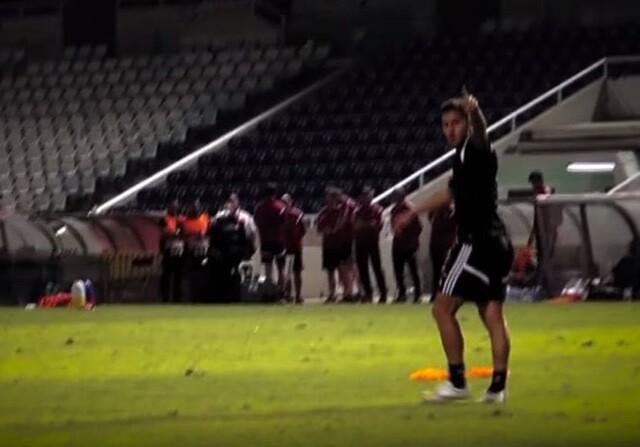 Golazo de Hazard en el entrenamiento de Bélgica