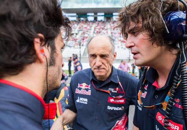 Franz Tost y el accidente de Carlos Sainz