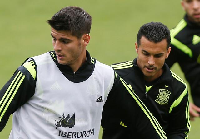 Morata y Pedro