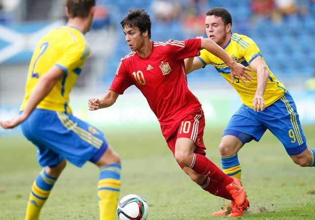 España sub21 empata (1-1) contra Suecia
