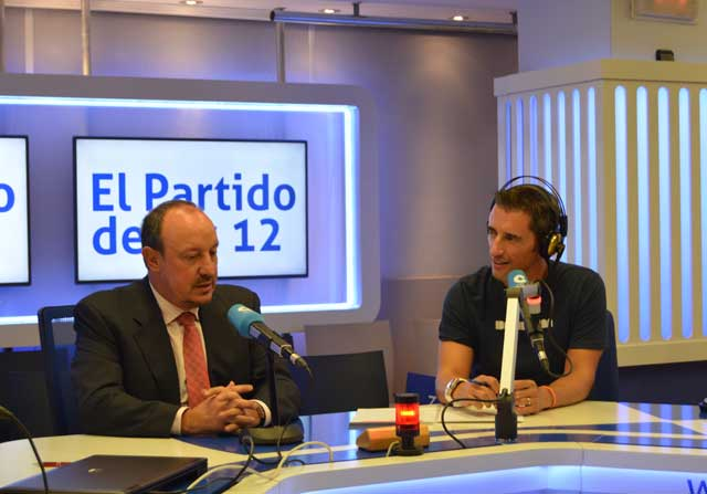 Benítez llamó a Sergio Ramos para matizar sus palabras