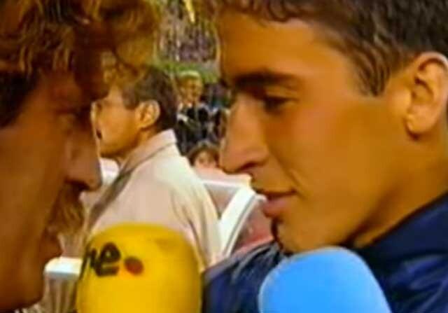Raúl entrevistado por Iñaki Cano
