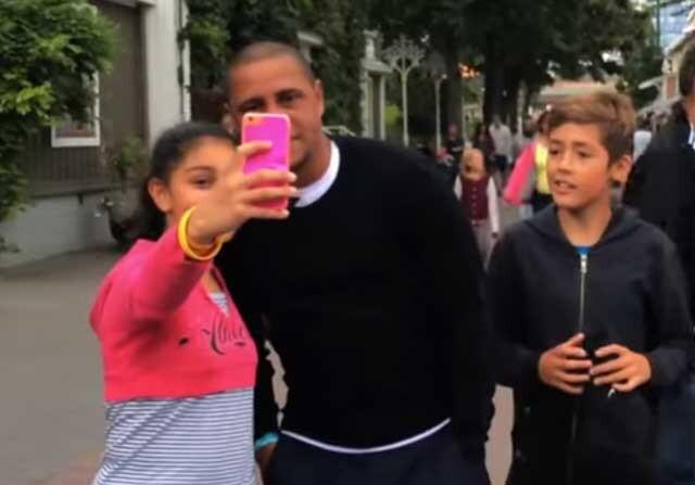 Roberto Carlos en la india