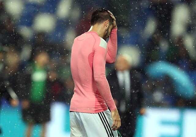 Álvaro Morata, en un partido con la Juventus