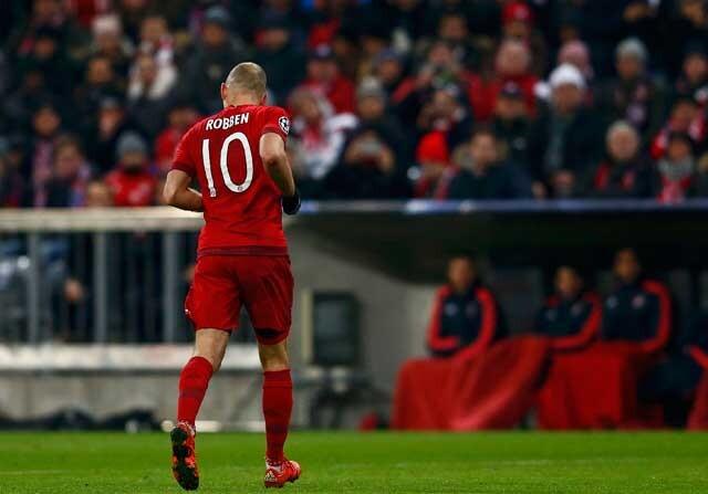 Arjen Robben lesionado con el Bayern