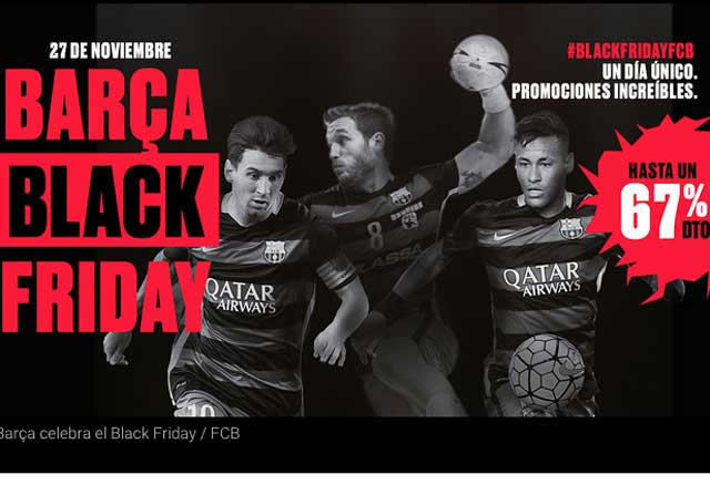 El Barça se suma al 'Black Friday'