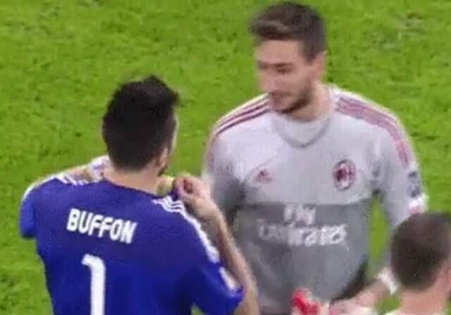 Buffon y Donnarumma