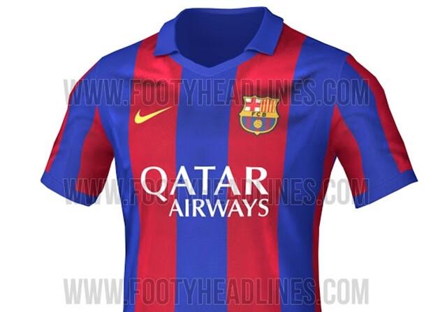 Camiseta Barcelona 2016/16 abre
