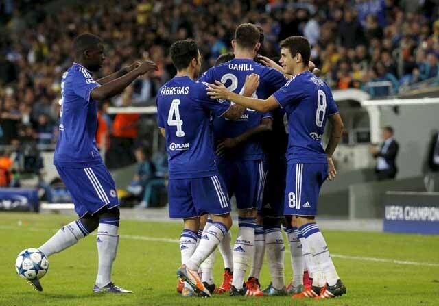 El Chelsea golea al Maccabi y espanta fantasmas
