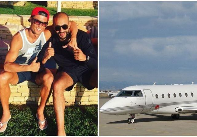 Cristiano Ronaldo viajes avión Badr Hari